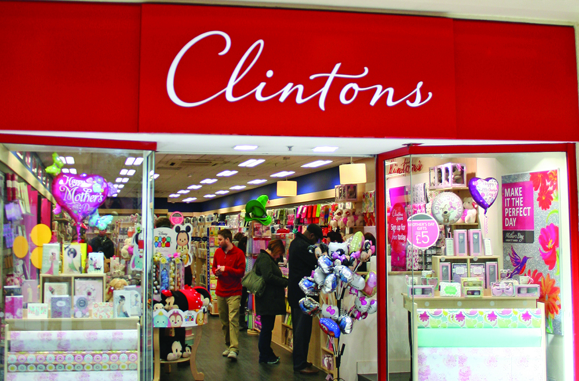 Clintons Oxford
