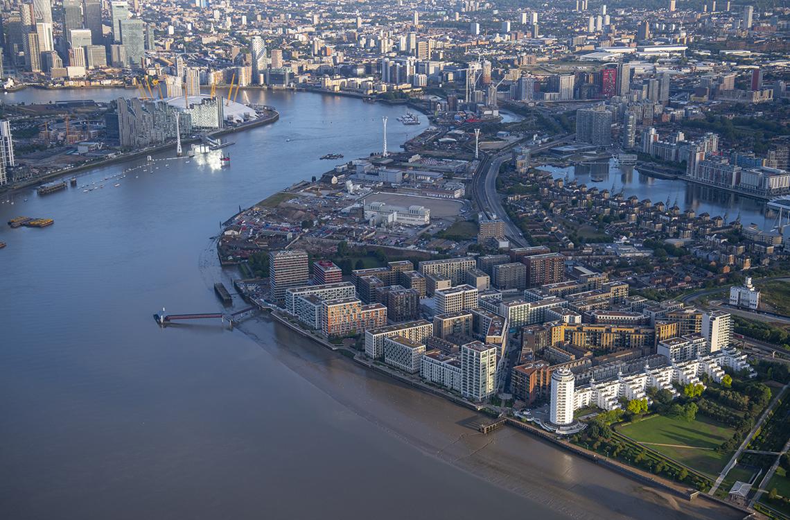 Royal Wharf Dockland